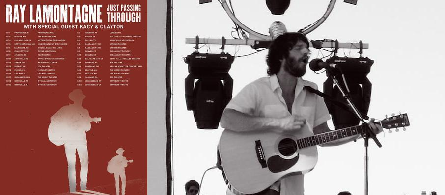 Ray LaMontagne at Akron Civic Theatre