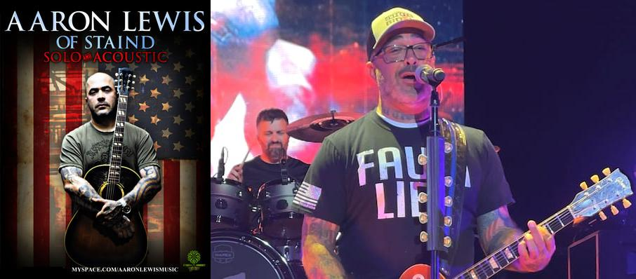 Aaron Lewis at Akron Civic Theatre