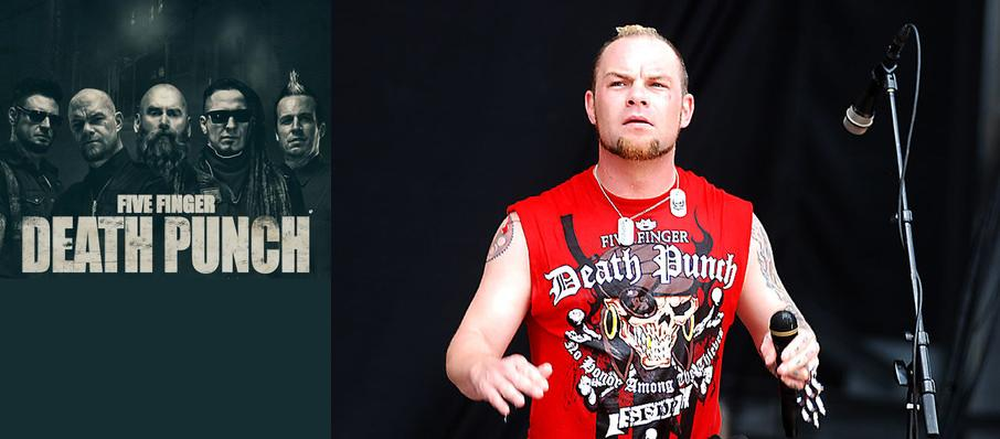 Five Finger Death Punch at Blossom Music Center