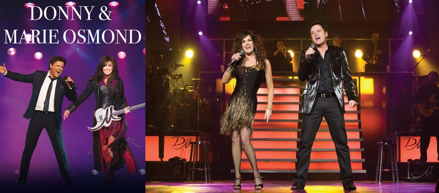 Donny and Marie Osmond at Hard Rock Rocksino Northfield Park