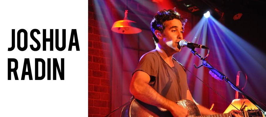 Joshua Radin at The Kent Stage