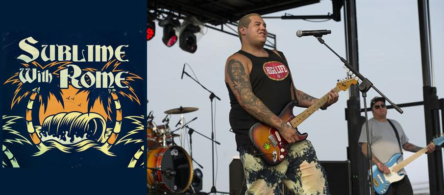 Sublime with Rome at Hard Rock Rocksino Northfield Park