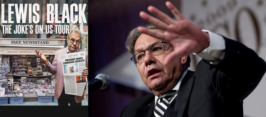 Lewis Black at MGM Northfield Park