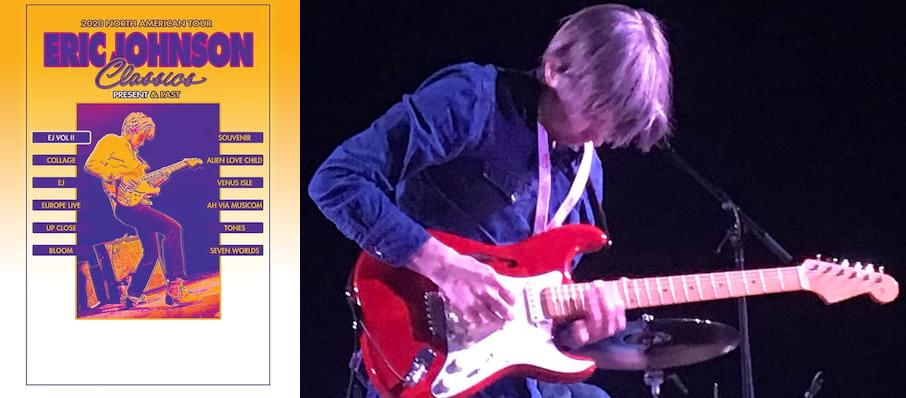 Eric Johnson at The Kent Stage