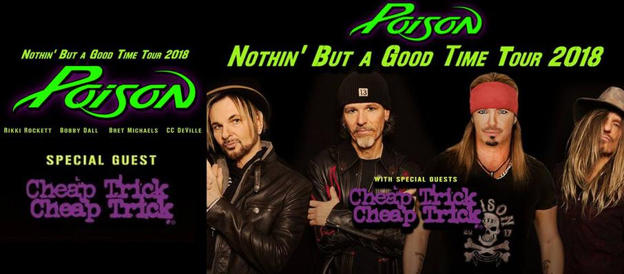Poison with Cheap Trick at Blossom Music Center