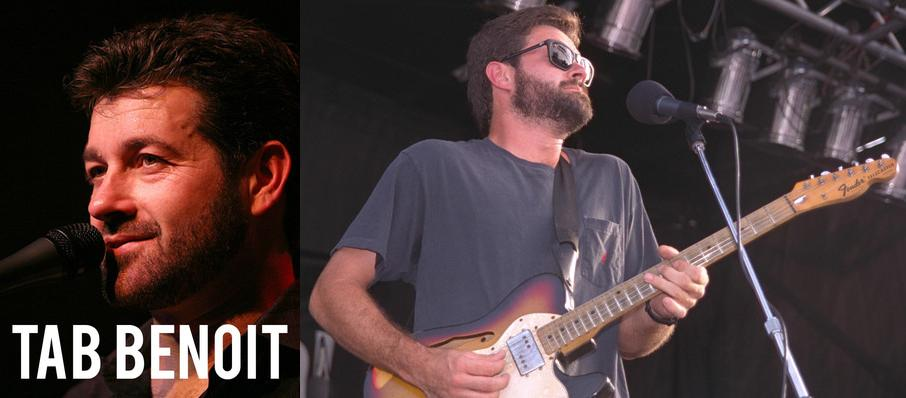 Tab Benoit at The Kent Stage