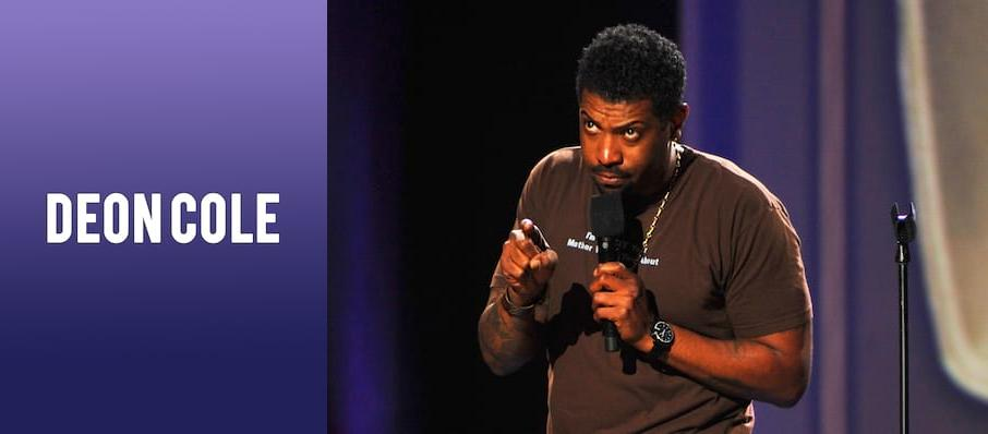 Deon Cole at MGM Northfield Park
