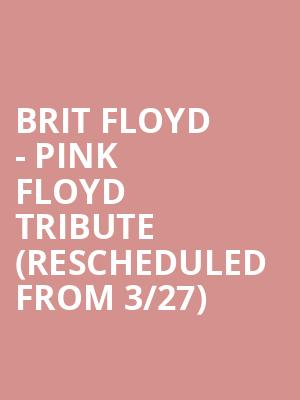 Brit Floyd - Pink Floyd Tribute (Rescheduled from 3/27) at Akron Civic Theatre