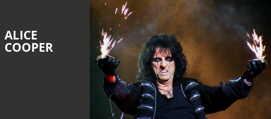 Alice Cooper, Blossom Music Center, Akron