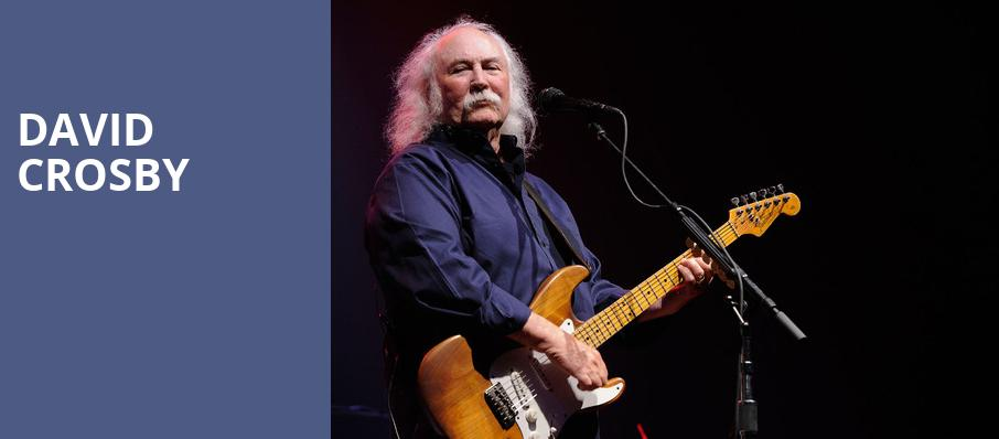 David Crosby, The Kent Stage, Akron