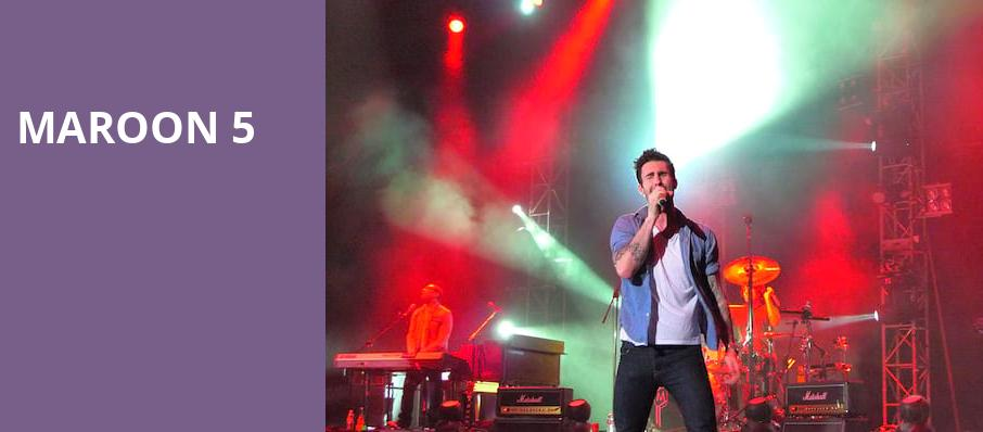 Maroon 5, Blossom Music Center, Akron