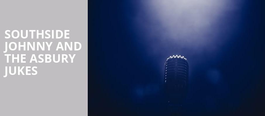 Southside Johnny and The Asbury Jukes, MGM Northfield Park, Akron