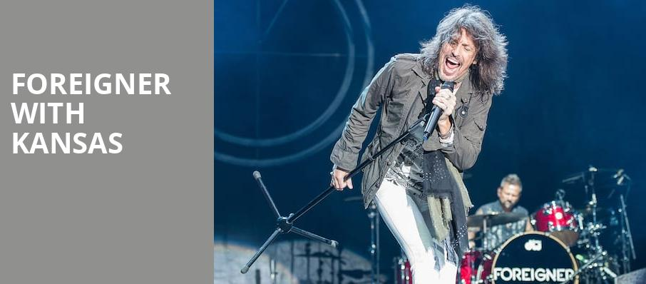 Foreigner with Kansas, Blossom Music Center, Akron