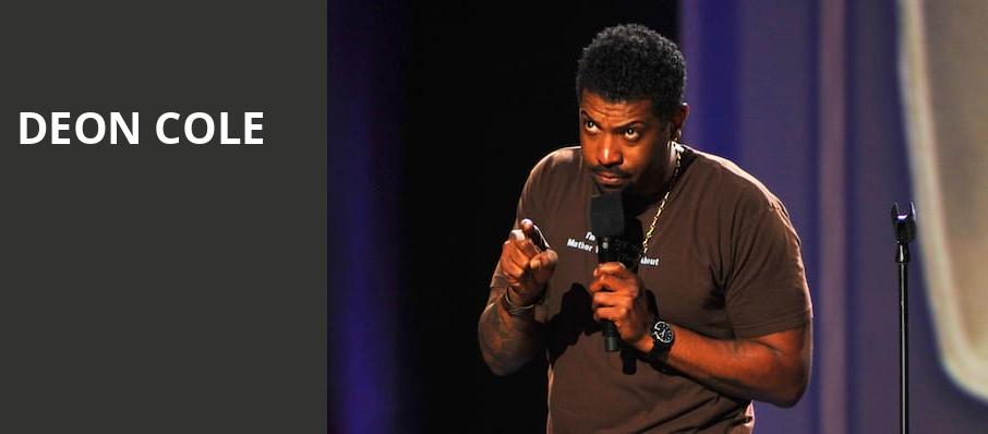 Deon Cole, MGM Northfield Park, Akron