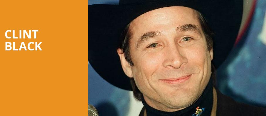 Clint Black, Akron Civic Theatre, Akron