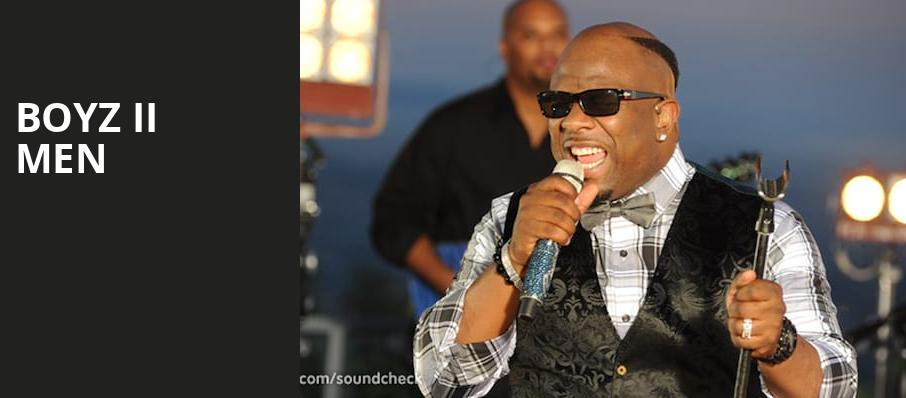 Boyz II Men, MGM Northfield Park, Akron