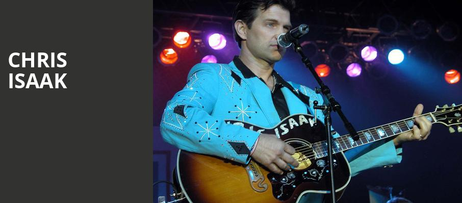 Chris Isaak, MGM Northfield Park, Akron