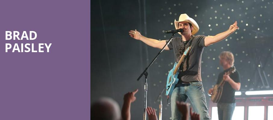 Brad Paisley, Blossom Music Center, Akron